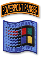 PowerPoint Ranger Patch